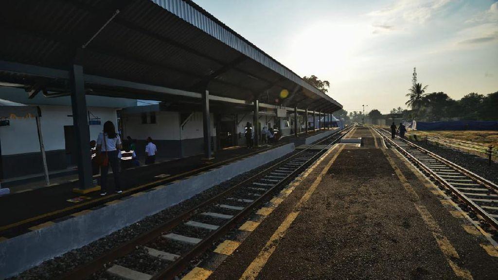 Jalur Kereta Ciranjang-Cipatat Dibuka, Tiketnya Masih Gratis