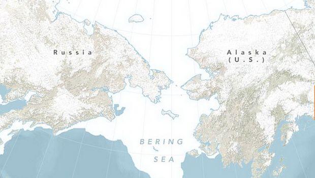 Penampakan Laut Bering