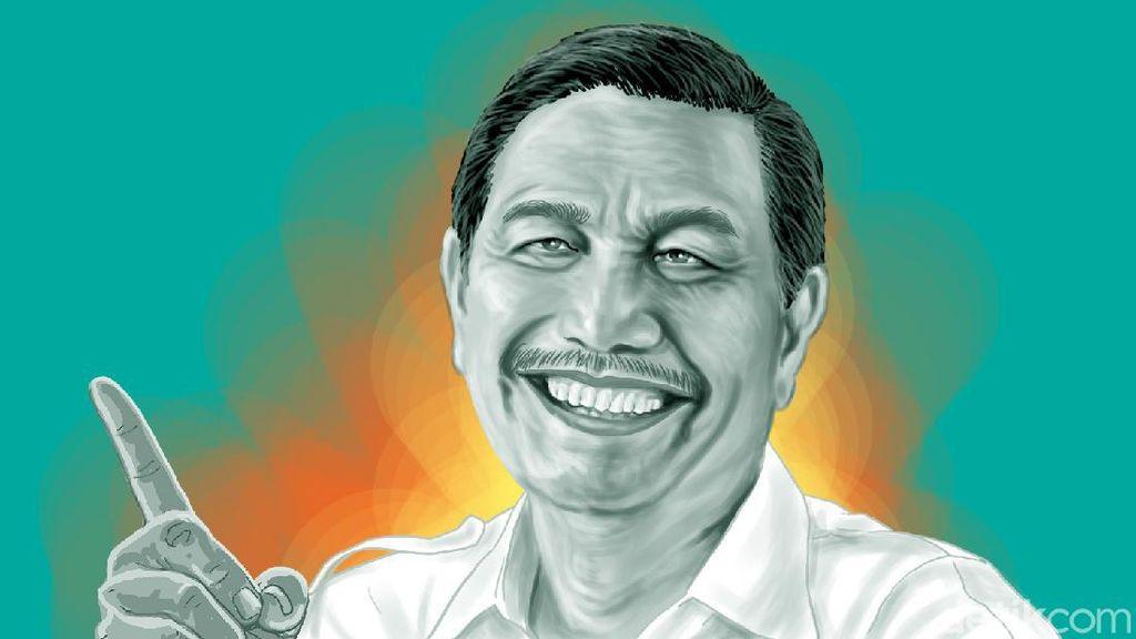 Lagi! Luhut Sentil Keras Elite Politik di Balik Aksi Tolak Omnibus Law