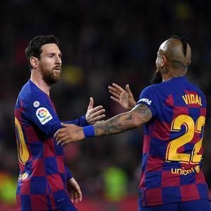 Vidal di Ambang Gabung Inter Milan, Messi Kirim Pesan Begini