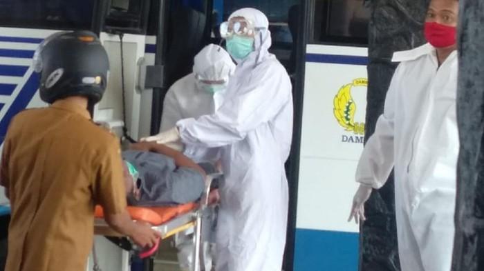 Penumpang Bus DAMRI Meninggal di Sukabumi