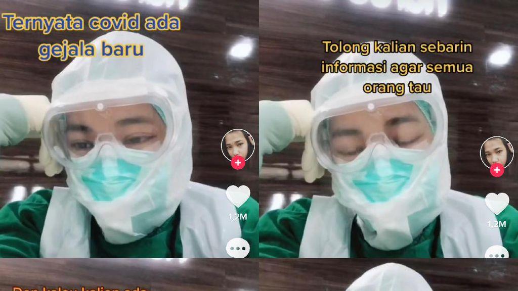 Viral di TikTok, Perawat Ungkap Gejala Awal Corona: Tak Bisa Mencium Bau