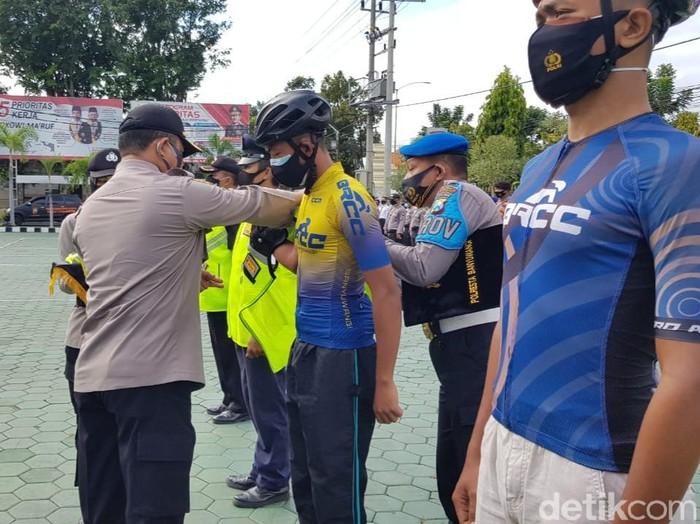 polisi Banyuwangi membentuk Komunitas Peduli Penegak Disiplin COVID-19