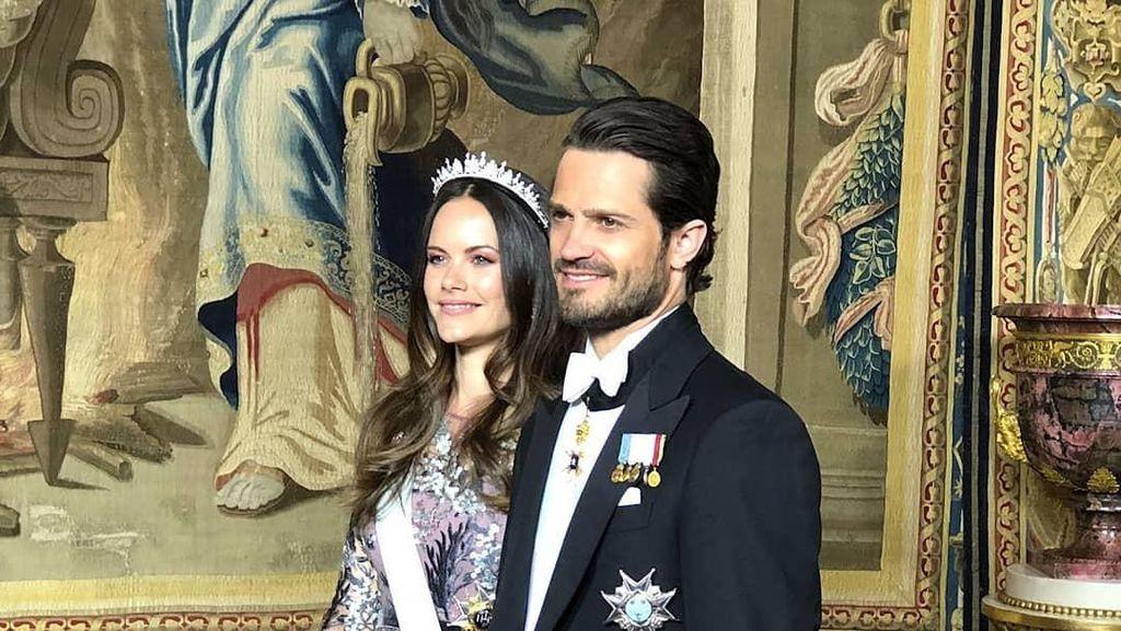 Putri Sofia dan Pangeran Carl Philip dari Swedia Positif COVID-19