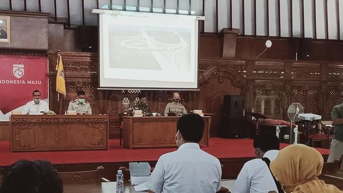 Rakor pengadaan tanah jalan tol Jogyakarta-Solo di Pemkab Klaten