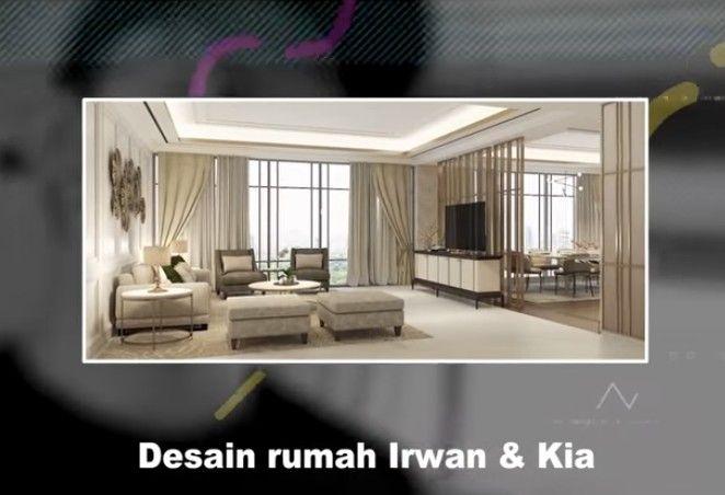 Desain rumah baru Irwansyah dan Zaskia Sungkar.