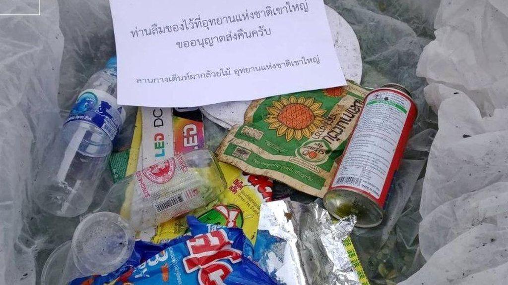 Sampah yang Dibuang di Taman Nasional Thailand Akan Dikembalikan ke Pembuangnya