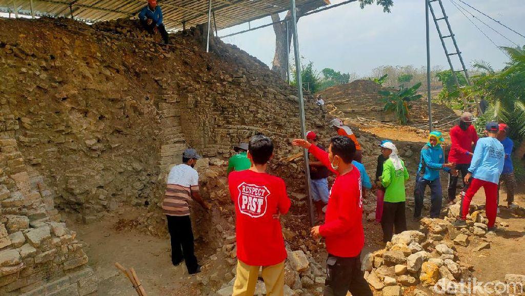 Ekskavasi Situs Candi Patakan Lamongan Tahap 4 Dimulai