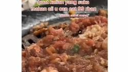 Jijik! Netizen Temukan Kecoa Hidup Saat Makan Daging AYCE Rp 99 Ribu