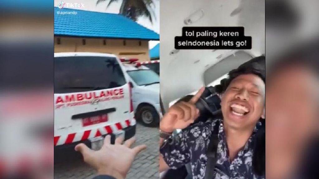 Viral Nakes Ingatkan Orang Berlibur Abai Protokol, Siap-siap Masuk Ambulans!