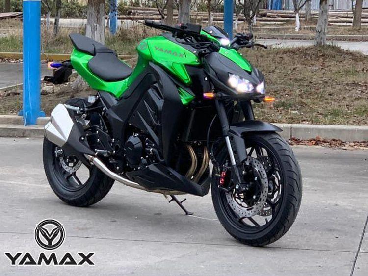 Potret Yamax Z400 Kembaran Z1000 Seharga Rp 62,5 Juta