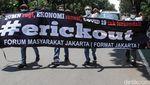Aksi Tuntut Perombakan Kabinet Menteri BUMN