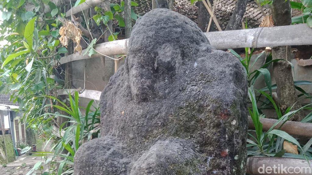 Ada Arca Ganesha di Perempatan Kampung di Klaten, Begini Penampakannya