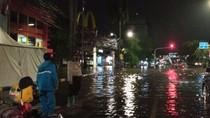 Jalan Panjang Jakbar Banjir 50 Cm, Lalu Lintas Kendaraan Tersendat