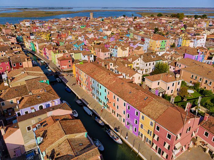 Desa Burano di Italia