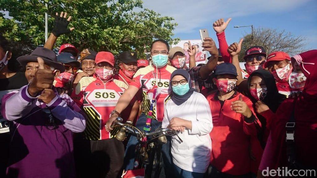 Eri Cahyadi Komitmen Akan Bangun Infrastruktur Pesepeda di Surabaya
