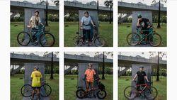 Fenomena Tren Sepeda dan Jepretan Unik ala Fotografer Panji Indra