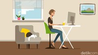 Tips Cermat Bikin Kantor di Rumah saat PSBB