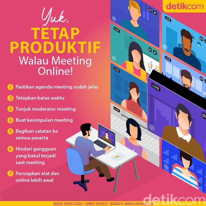 Infografis Produktif di Rumah