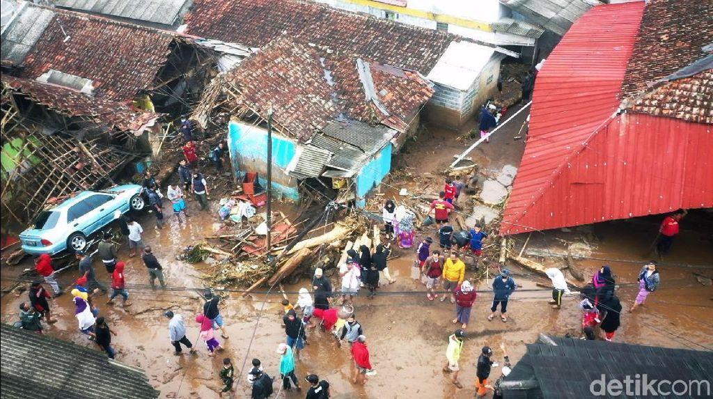 Banjir Bandang di Sukabumi, BPBD: 2 Orang Meninggal-8 Jembatan Putus