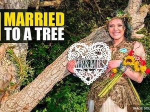 Wanita Ini Lebih Pilih Menikah dengan Pohon daripada Pria, Ungkap Alasannya