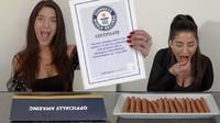 Keren! YouTuber Ini Taklukkan 5 Rekor Dunia, Makan Donat hingga Tomat