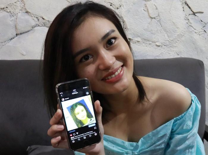 Liya, wanita yang viral karena foto KTP cantik.