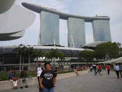 Hanya Bisa Melepas Rindu Singapura dari Foto
