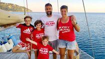 Lupakan Corona, Keluarga Ini Jual Rumah Lalu Pergi Berlayar