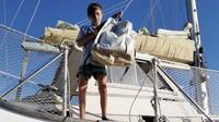 Keluarga itu akan berangkat pada akhir September dari La Spezia di Liguria, barat laut Italia. Rute pertama mereka menuju ke Kepulauan Balearic Spanyol, lalu Gibraltar dan keluar ke Atlantik.