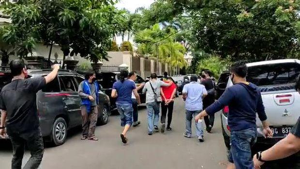 Penggerebekan BNN di Palembang