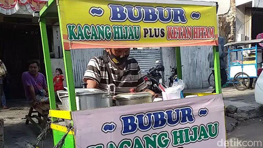 Begini Cara Penjual Bubur di Surabaya Jaga Kemampuan Bahasa Jepangnya