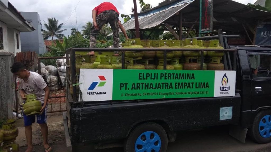 Pasca Banjir Bandang di Sukabumi, Pertamina Pastikan Stok LPG Cukup