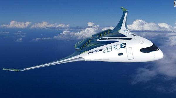 Airbus telah mengumumkan rencananya untuk membawa pesawat komersial tanpa emisi pertama di dunia. Pesawat berbodi menyatu dengan sayap akan dapat membawa hingga 200 penumpang dan jangkauannya lebih dari 2.000mil laut.