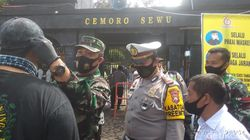 Pembagian Masker di Magetan Dilakukan Hingga Perbatasan Jatim-Jateng