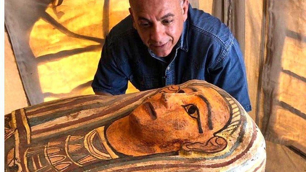 Terkubur 2.500 Tahun, Puluhan Peti Mati Kuno Ditemukan di Mesir