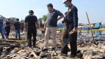 Puslabfor Olah TKP Selidiki Penyebab Kebakaran di Kali Baru Jakut