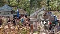 Viral Rumah di Ponorogo Dirobohkan Anak Gegara Ibu Belum Bayar Utang