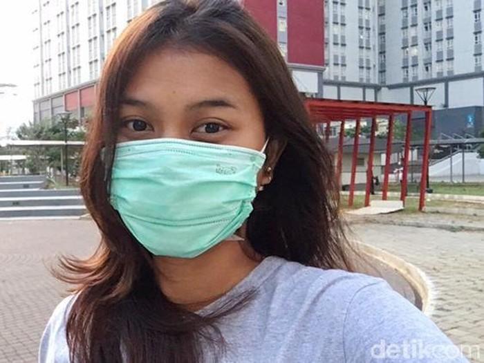 Curhat Dinda yang merasa insecure. Dok. Tangkap Layar akun TikTok @dindaaptriii.
