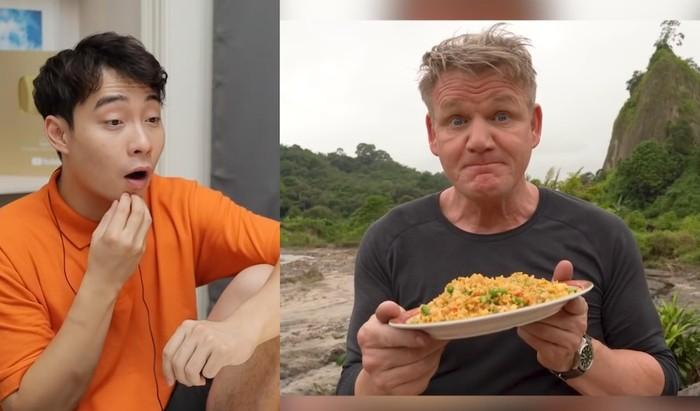 Uncle Roger komentari Gordon Ramsay saat masak nasi goreng