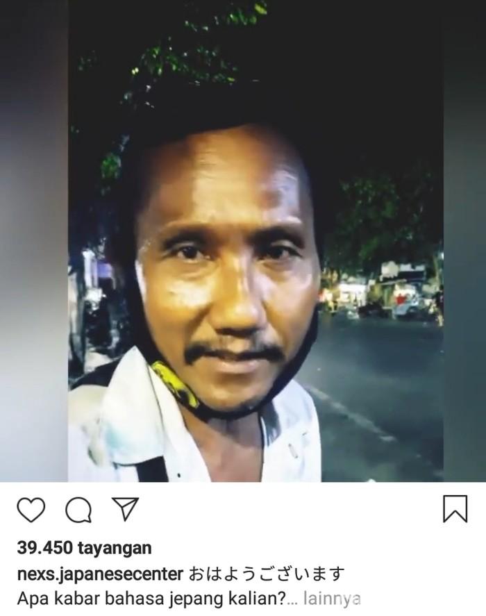 Viral Penjual Bubur di Surabaya Fasih Bahasa Jepang