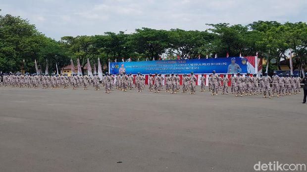 Wakapolri Beri Penghargaan ke 302 Pasukan Perdamaian,