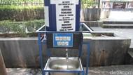 Miris! Wastafel Portabel di Alun-alun Bandung Rusak dan Tak Keluarkan Air