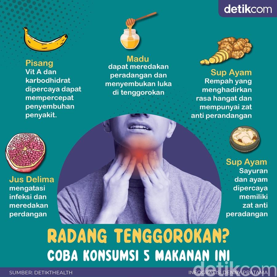 5 Makanan Penangkal Radang Tenggorokan