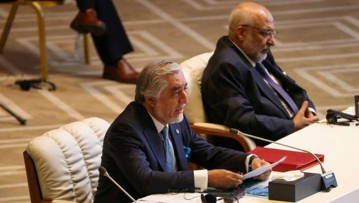 Abdullah, ketua Dewan Tinggi Afghanistan untuk Rekonsiliasi Nasional (AFP Photo)