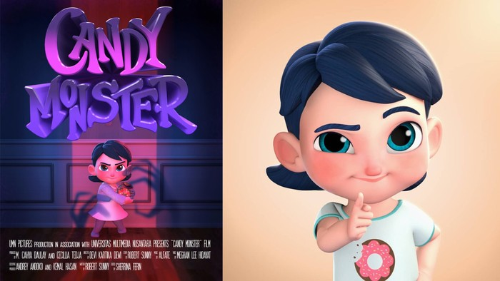 Candy Monster merupakan film animasi garapan UMN Pictures.