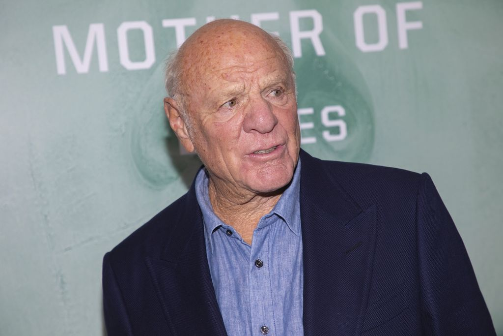 Barry Diller attends the world premiere of HBO's