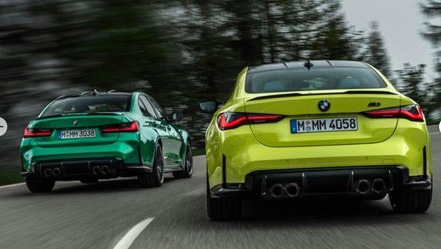 BMW M3 Sedan dan M4 Coupe terbaru 2020