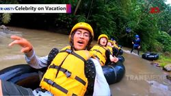 Celebrity on Vacation: Main River Tubing di Cikal Adventure