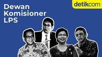 Kenalan dengan Jajaran Komisioner LPS yang Baru Dilantik Jokowi